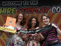 Sign up for the cosplay contest