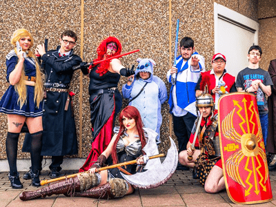 Join the Thousands of Anime, Comic Book, Sci-fi, Video Game and Cosplay Fans at Sheffield Arena for Yorkshire Cosplay Con 2017 Comic Con