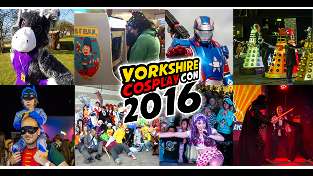 Join Thousands of Anime, Cosplay, Comic Book, Sci-Fi and Videogaming Fans at Sheffield Arena for Comic Con