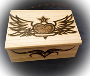 Burning Sensations Pyrography